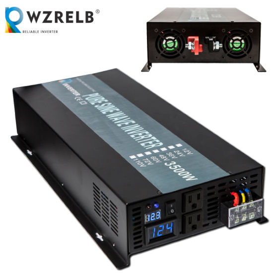 Wzrelb 3500 Watts 12V Pure Sine Wave Inverter
