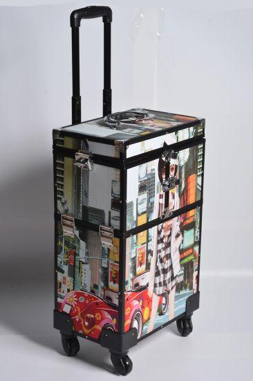 Box Makeup Trolley Case