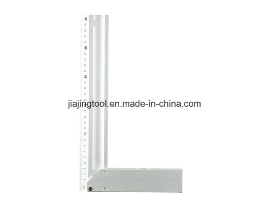 """10"""" 12"""" 14"""" Heavy Duty Angle Ruler Aluminium Try Square"""