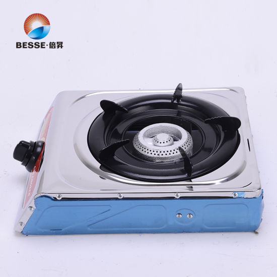 Stainless Steel Single Burner Gas Hob, Gas Stove, Gas Cooker Zg-1002