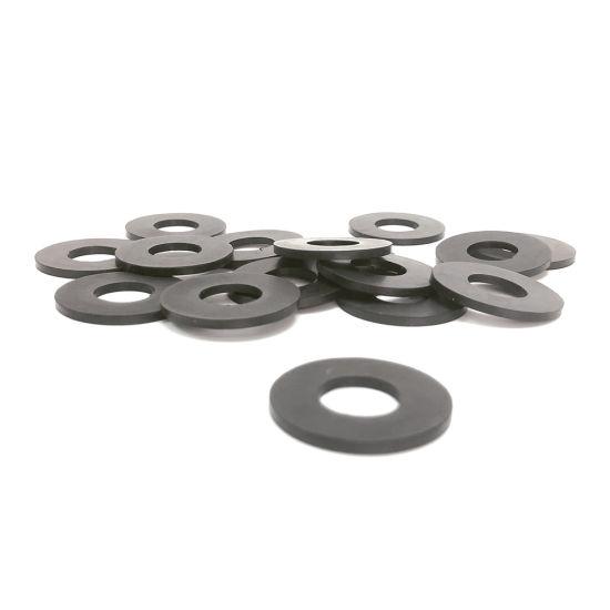 China Manufacturer Custom Neoprene Rubber Round Flat Gasket for Machinery  and Equipment