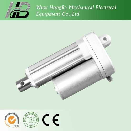 High Speed Linear LCD TV Push Pull Solenoid Actuator