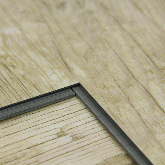China Pvc Flooring Cork Backing Oak