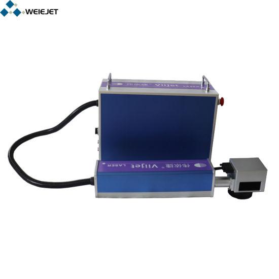 Factory Price Fiber Laser Marking/Engraving/Printing Machine Laser Machine/Equipment for Metal Container