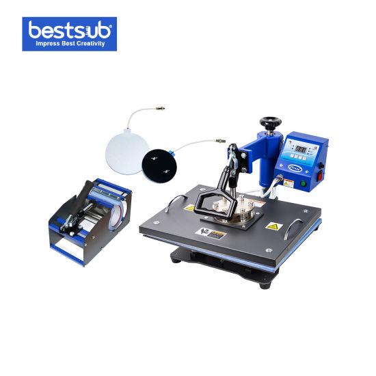 Bestsub Sublimation 4-in-1 Combo Heat Press Mug / T Shirt Machine (JTSD69)