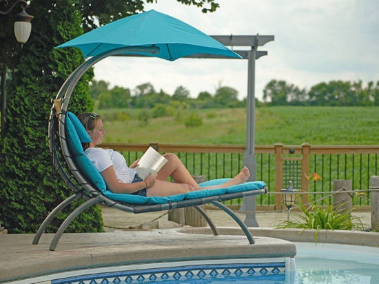 China Pool Lounger Patio Furniture Hammock Dream Chaise Lounge