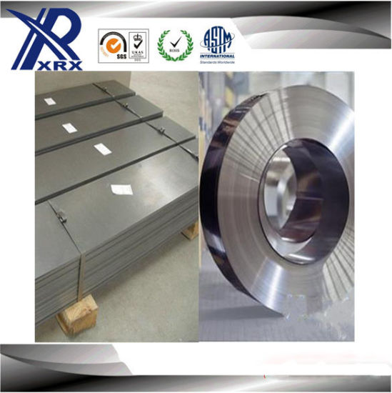 Cold Rolled 2b/Ba 301 Stainless Steel in Coil/Sheet/Strip (0.01-5mm)