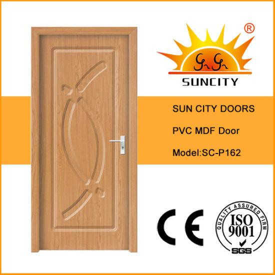 PVC Main Interior Solid Wood Patio Door