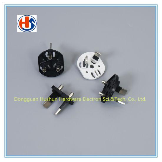 Australia SAA 3pin Electrical Plugs and Sockets Extension Cord Flat Plug