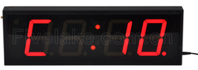 4 Inch 4 Digit LED Digital Wall Clock Interval Timer pictures & photos