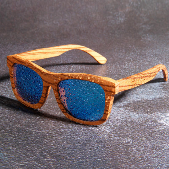 Cheap Promotional Bamboo Sunglasses Polarized Revo Color Lens Wholesale Made in China