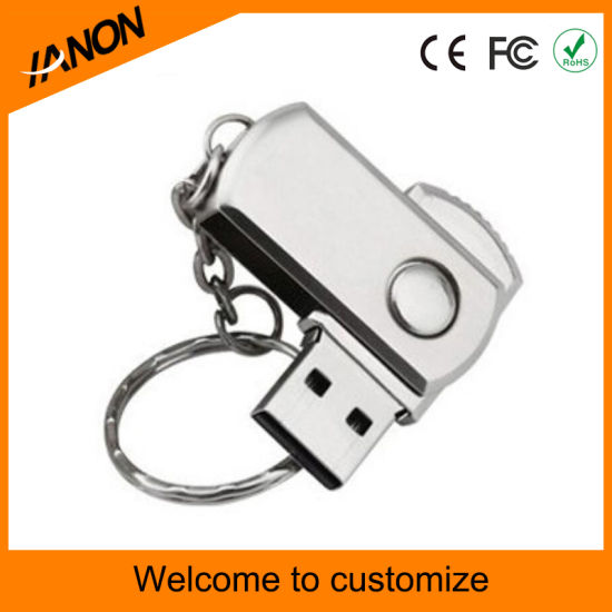 Bullet Shape USB Flash Memory Metal USB Pendrive pictures & photos