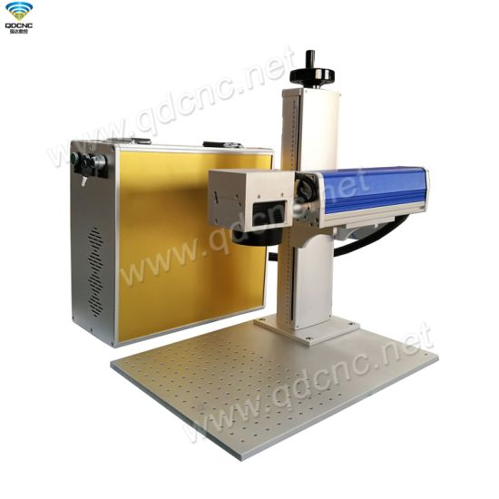 Fiber Laser Marking Machine for Stainless Steel, PVC, Iron, Metals, Namecard, Aluminum with 20W 30W 50W Fiber Laser Marker Metal Engraving Machine Qd-F20/30/50