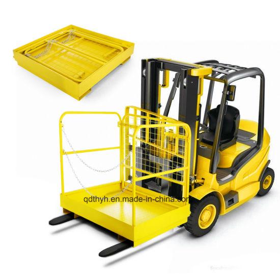 36''*36'' Forklift Work Platform Safety Cage Heavy Duty Rust-Free