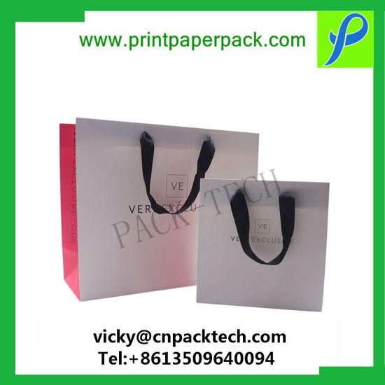 Delicate Christmas Gift Bag Promotional Gift Bag Paper Carrier Bag Holographic Bags Shopping Bags pictures & photos
