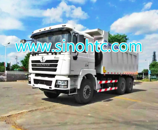 SHACMAN Camc 6*4 Dump Truck with Cummins Engine 375HP pictures & photos