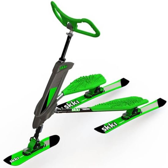 Trikke Snow Self Balancing Scooter Extreme Sports Downhill Snow Vehicle