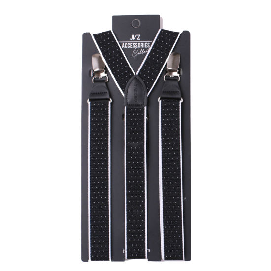 High Quality Polyester Fabric Men's Suspender