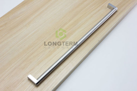 96mm Strong Zinc Alloy Solid Leg Stainless Steel Pipe Tube Furniture Cabinet Handles pictures & photos