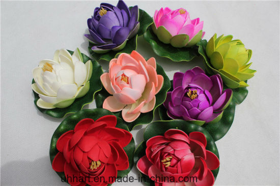 China Mini Hindu Lotus High Simulation Wholesale Artificial Flower