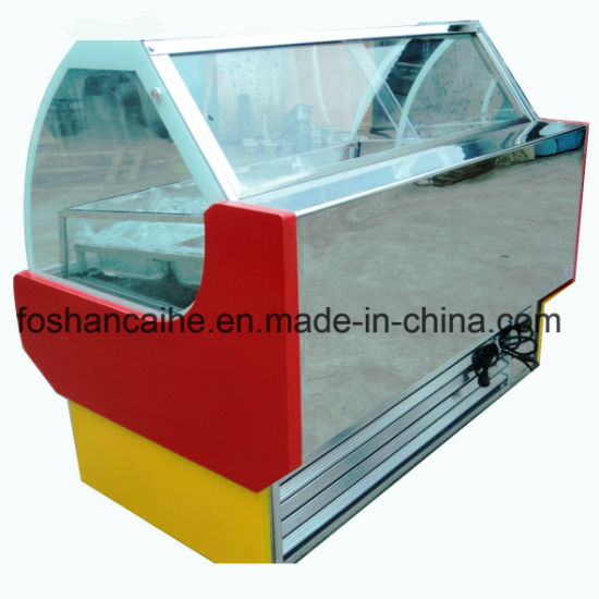 Hot Gas Wire Popsicle Display Cabinet for Ice Cream pictures & photos