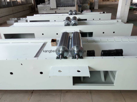 EVA Veneer Decorative Woodworking Wrapping Machine pictures & photos