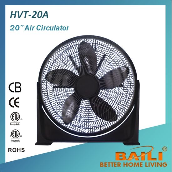 20′′ Box Fan and Turbo Fan With100% Copper Motor pictures & photos