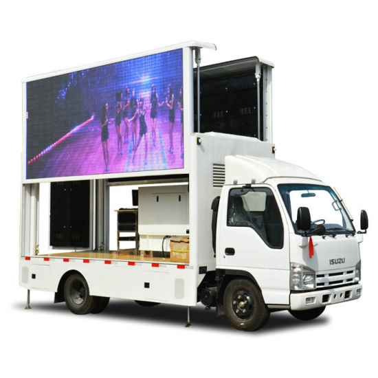 Japan Brand Truck Mounted LED Billboard 3840*1760mm (6.8m2)