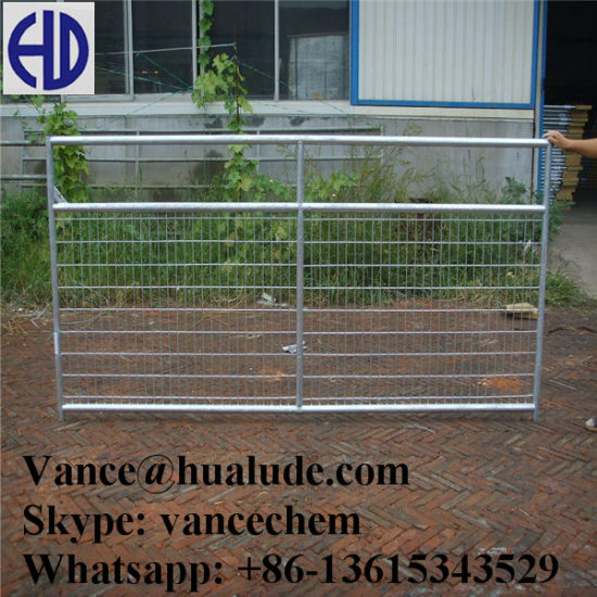farm fence gate. Beautiful Gate Metal Livestock Field Farm Fence Gate For Cattle Sheep On