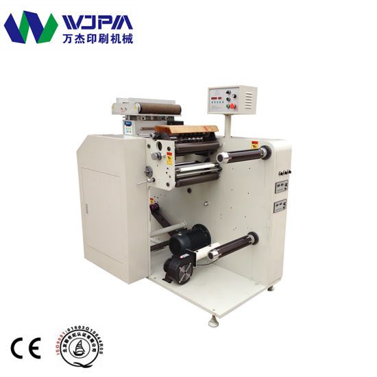 Automatic Roll Feed Web0guide High Speed Label Slitting Machine pictures & photos