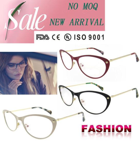 cadd7194c4 China Latest Fashion Women Eyeglasses Cat Eye Glasses Frames - China ...