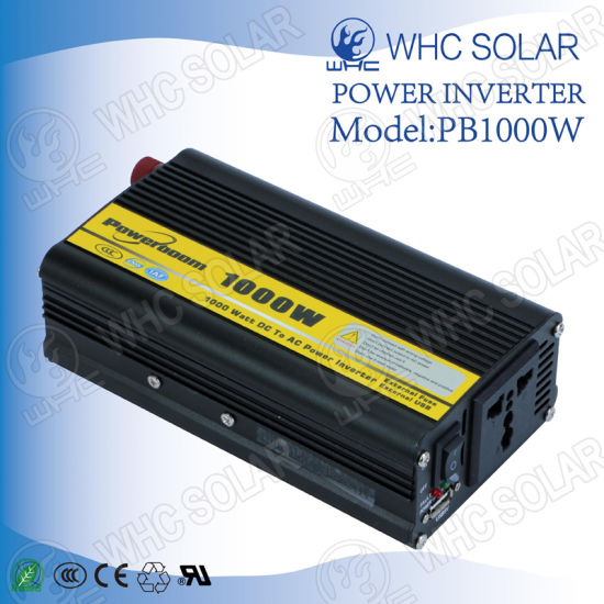 Solar Power System Modified 12V 1000W High Frequency Inverter pictures & photos
