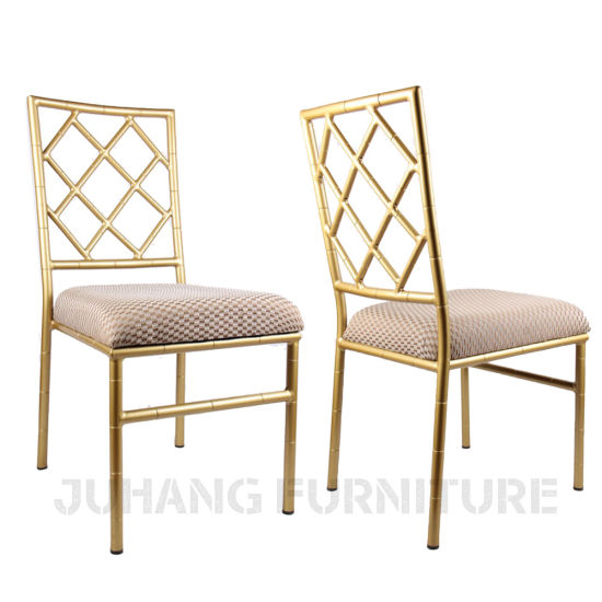 Dining Wedding Event Banquet Cross Back Restaurant Chair (HM-W018) pictures & photos