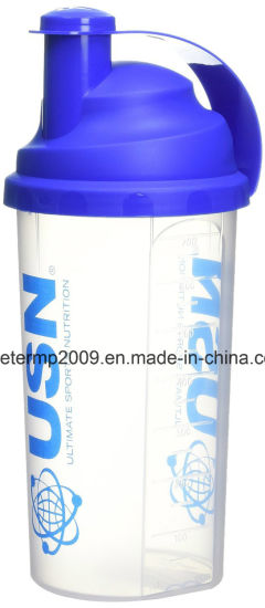 700ml Plastic Multi-Function Protein Shaker Bottle with Filter (HN-157) pictures & photos
