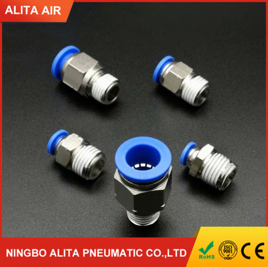 Quick Connect One Touch in Pneumatic Hose Fitting