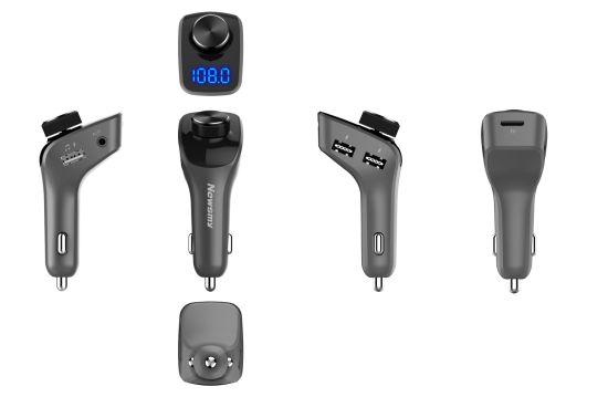 Bluetooth Car Kit Car Charger FM Transmitter