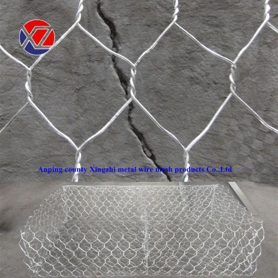 High Zinc Galvanized Hexagonal 8*10 Gabion Basket Stone Cage