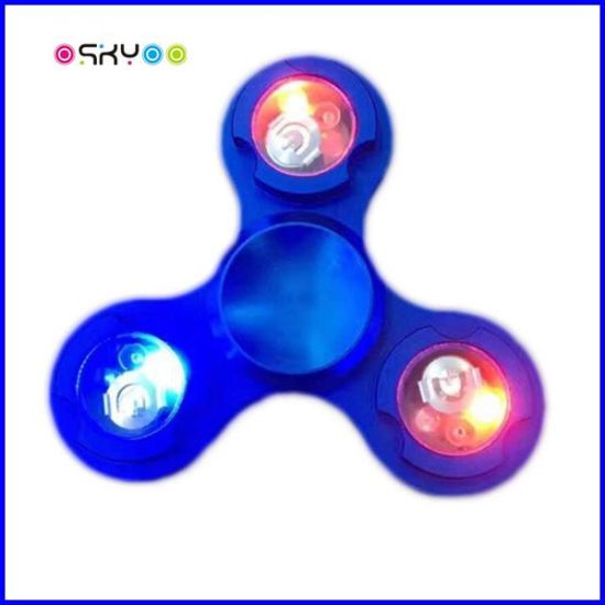 LED Lighting Fidget Gyro Hand Tri Spinner pictures & photos