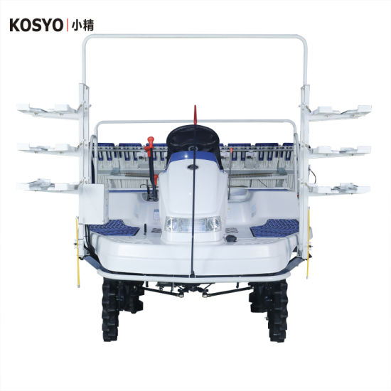 Kosyo High Speed Riding Type Rice Planting Machine Agricultural Farm Machinery