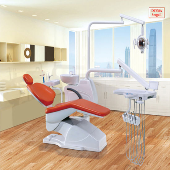 Ce-Approval! ! ! China Dt638A Seagull Type Dental Chair Unit