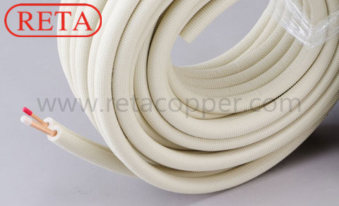 Pair Insulation Copper Coil for Air-Conditioning pictures & photos
