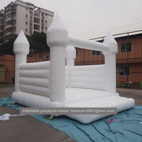 Commercial Jumping Inflatable Wedding Bouncer White Bounce House White Bouncer pictures & photos