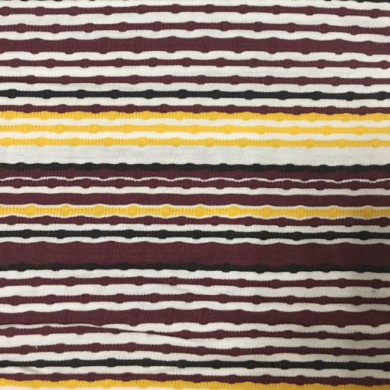 185GSM Modal Cotton Yarn Dyed Stripe Fabric Using for Clothing