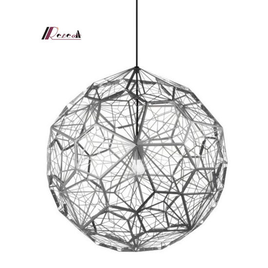 Decorative Stainless Steel Etching Chandelier Light for Hotel pictures & photos