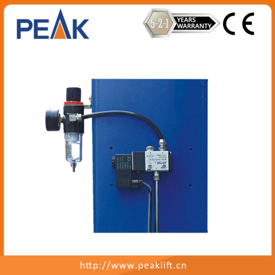 Heavy Duty Four Post Car Hoist with Mechanical Self-Lock Device pictures & photos