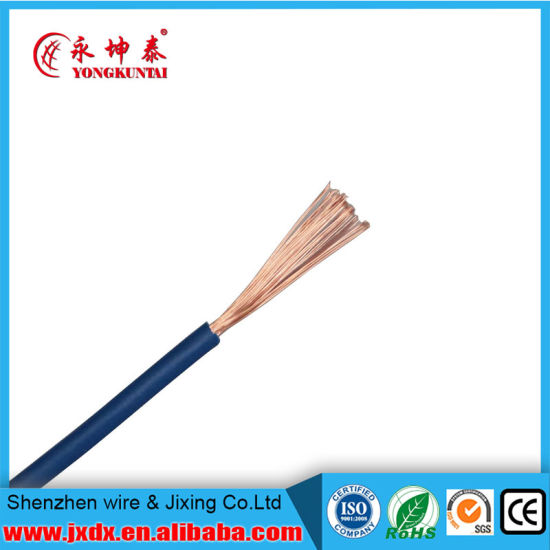 China Flexible 6mm 2.5mm2 16mm2 Copper Stranded Wire, 4mm Soild ...