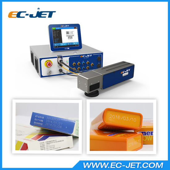10.4inches Touch Screen Expiry Date Printing Fiber Laser Printer (EC-laser) pictures & photos