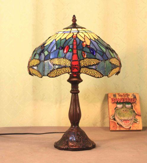 Art Tiffany Table Lamp 752