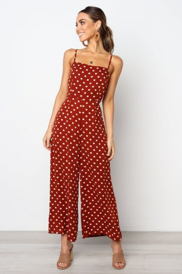 New Summer Trousers Women Clothes Polka DOT Casual Fashion Jumpsuit