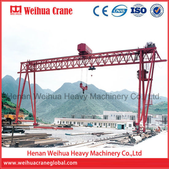 Weihua 50-100t Electric Winch Truss Double Girder Gantry Crane
